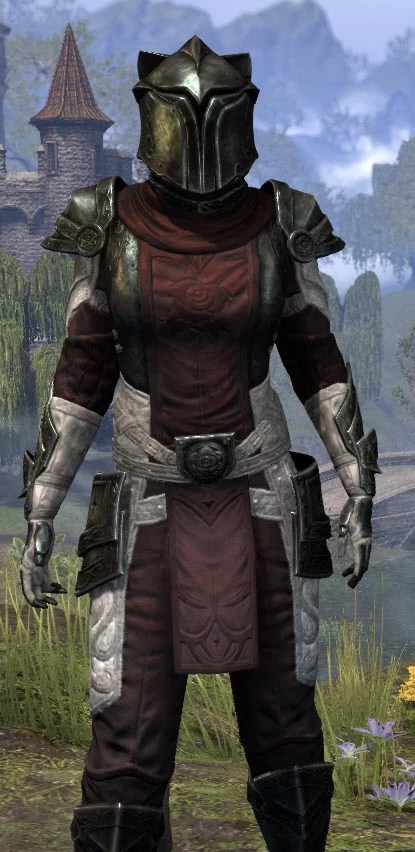 Silver Rose Heavy - Khajiit Female Close Front
