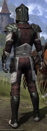 Silver Rose Heavy - Male Rear