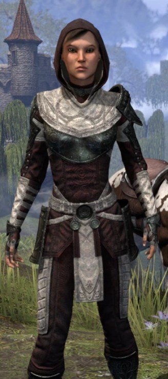 Silver Rose Light - Female Shirt Close Front