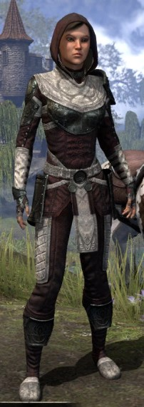 Silver Rose Light - Female Shirt Front