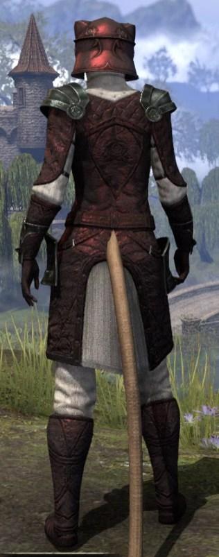 Silver Rose Medium - Khajiit Female Rear