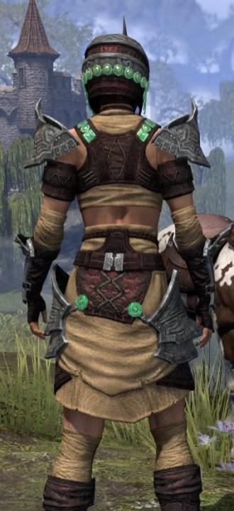Sul-Xan Ancestor Silk - Female Shirt Close Rear