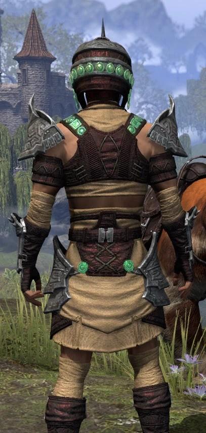 Sul-Xan Ancestor Silk - Male Shirt Close Rear