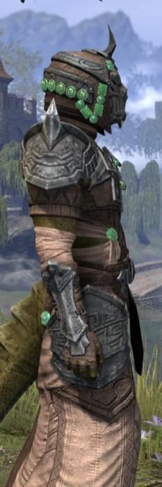Sul Xan Homespun - Argonian Male Robe Close Side