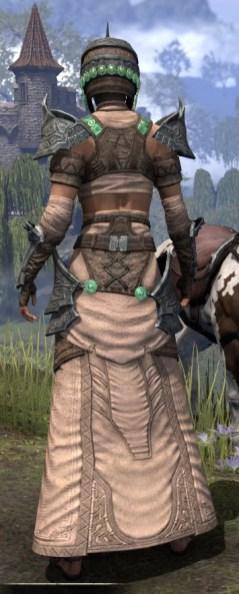 Sul Xan Homespun - Female Robe Rear
