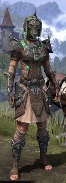 Sul Xan Homespun - Female Shirt Front