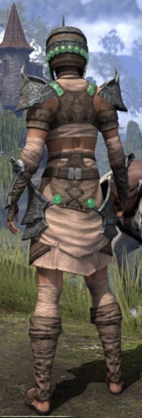 Sul Xan Homespun - Female Shirt Rear