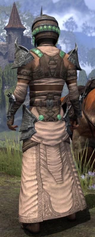 Sul Xan Homespun - Male Robe Rear