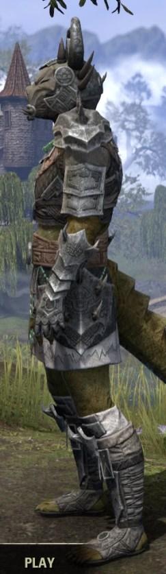 Sul Xan Iron - Argonian Male Side