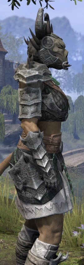 Sul Xan Iron - Khajiit Female Close Side
