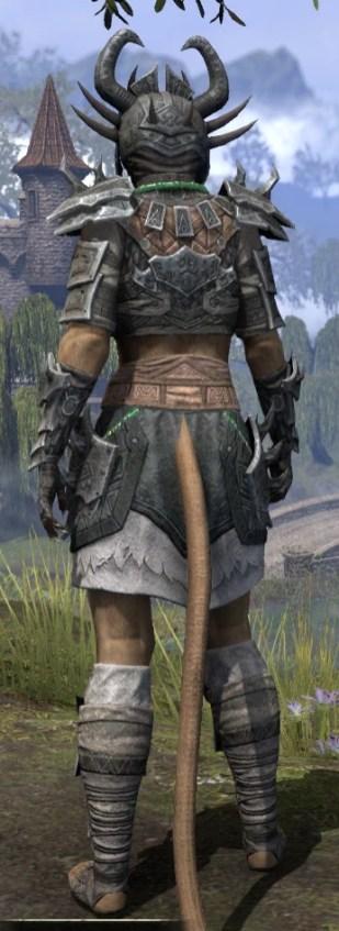 Sul Xan Iron - Khajiit Female Rear