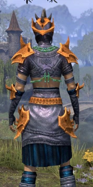 Sul-Xan Rawhide - Dyed Close Rear