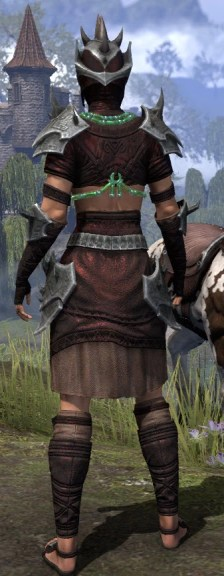 Sul-Xan Rubedo Leather - Female Rear