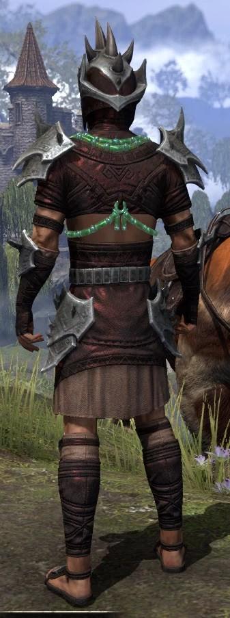 Sul-Xan Rubedo Leather - Male Rear