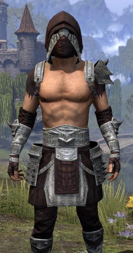 Crimson Oath Ancestor Silk - Male Shirt Close Front