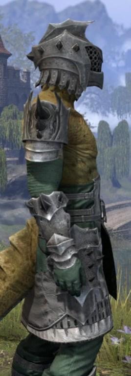 Crimson Oath Iron - Argonian Male Close Side