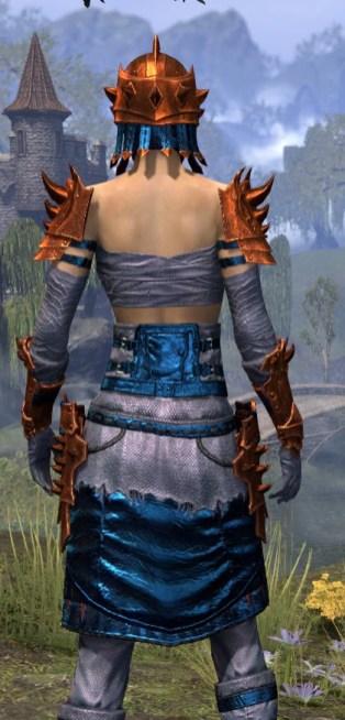 Crimson Oath Iron - Dyed Close Rear