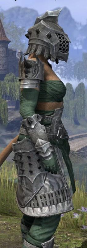 Crimson Oath Iron - Khajiit Female Close Side