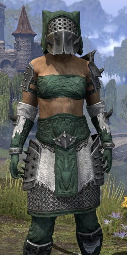 Crimson Oath Rawhide - Khajiit Female Close Front