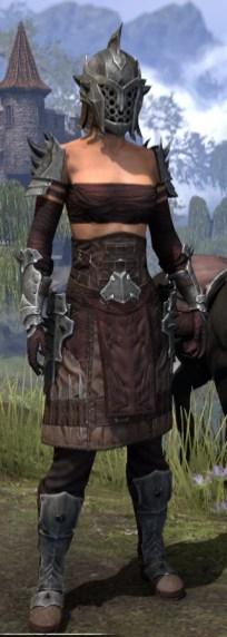 Crimson Oath Rubedite - Female Front