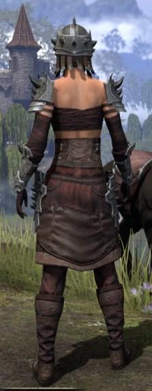 Crimson Oath Rubedite - Female Rear