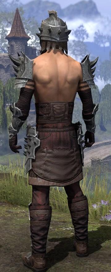 Crimson Oath Rubedite - Male Rear