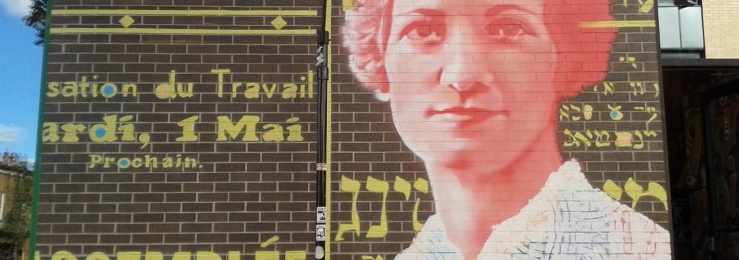 Murale Léa Roback