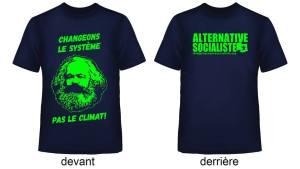 tshirt – Changeons le système, pas le climat!