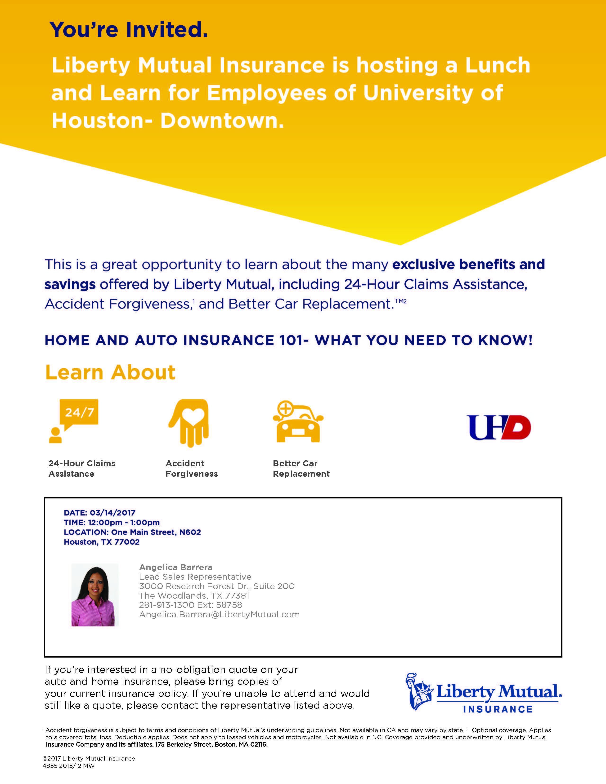 Liberty Mutual Lunch And Learn Tuesday The Hub