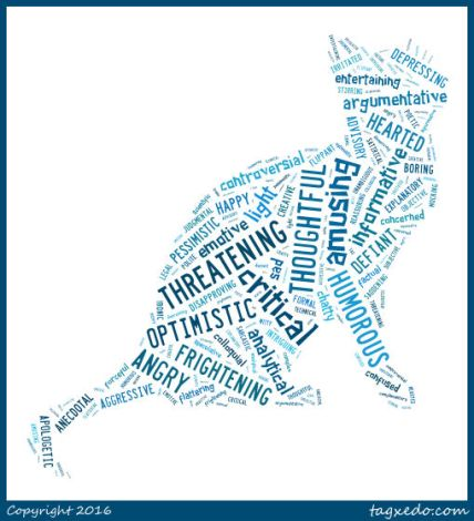 words cat