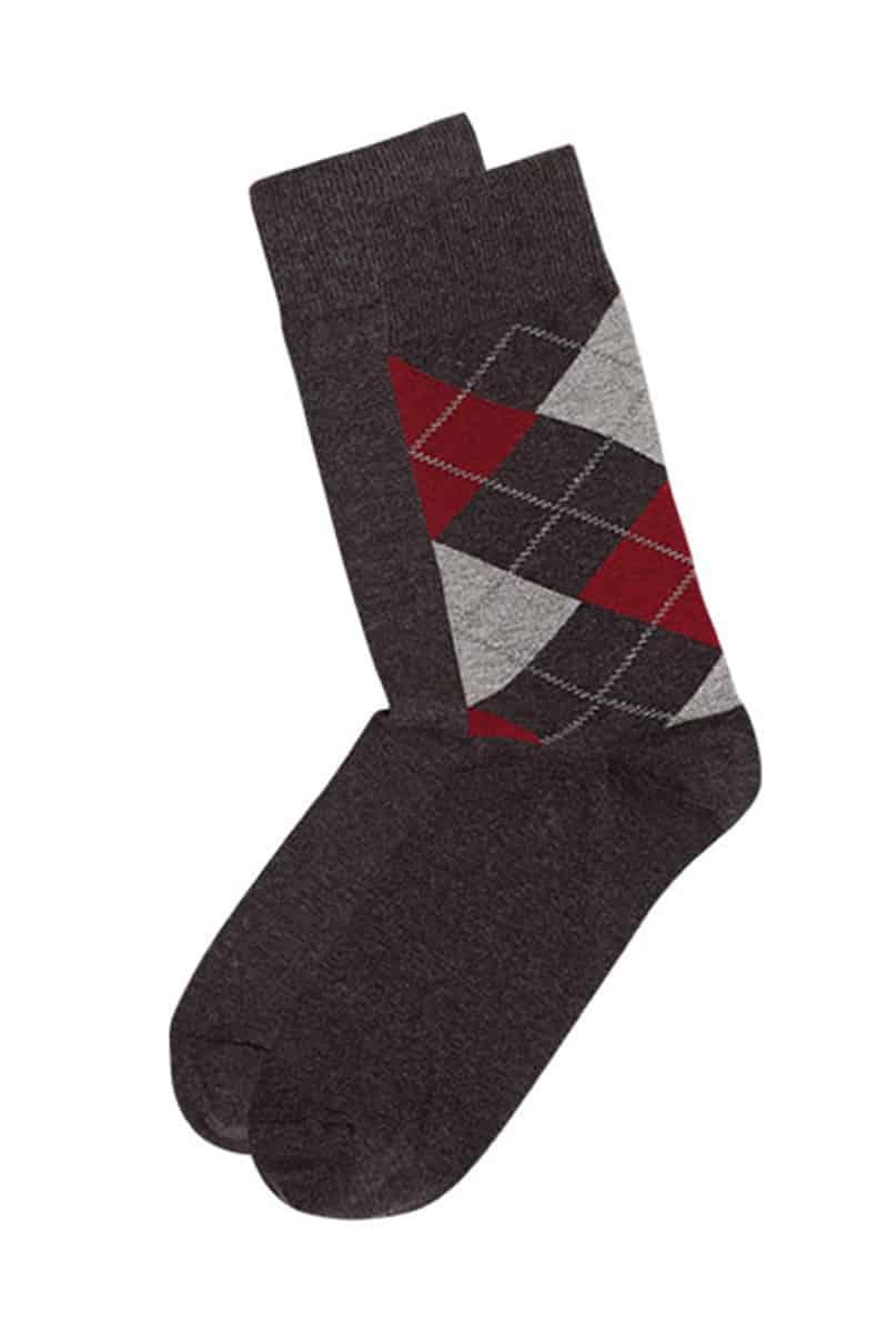 Men's Cotton Plaid Sock - esorama.gr