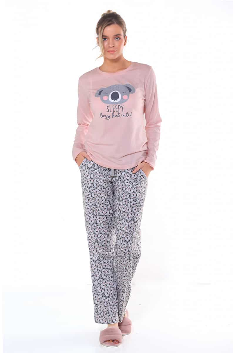 Dena Pink Women's Cotton Pajamas -
