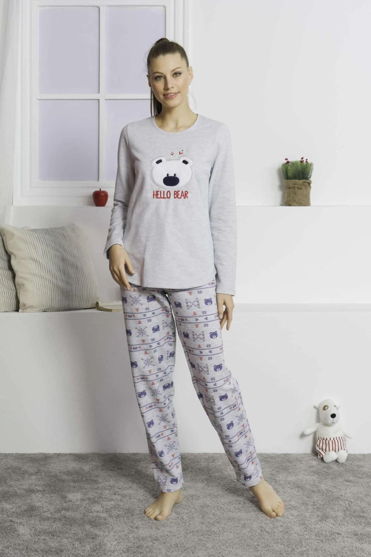 Pajamas for Women Hello Bear -