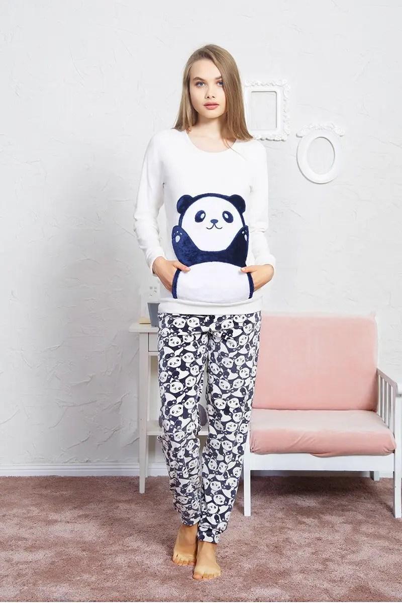 Women's Velvet Pajamas 806063 -