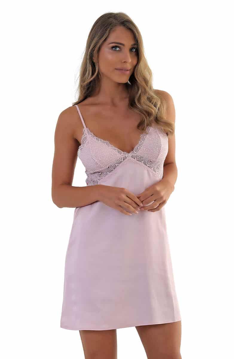 Pavita Women's Satin Nightgown -