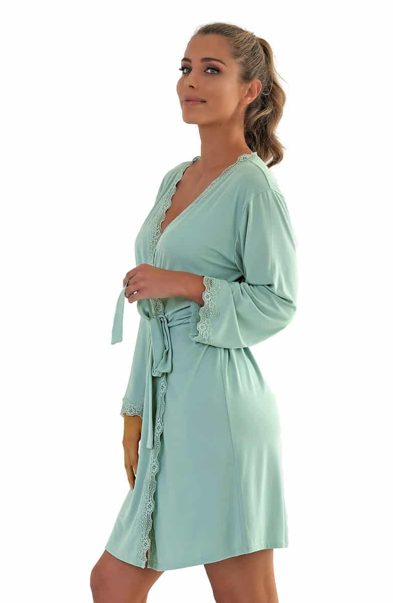 Tifany Green Women's Robe -