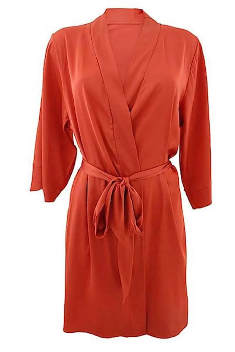 Belina Women's Satin Robe -