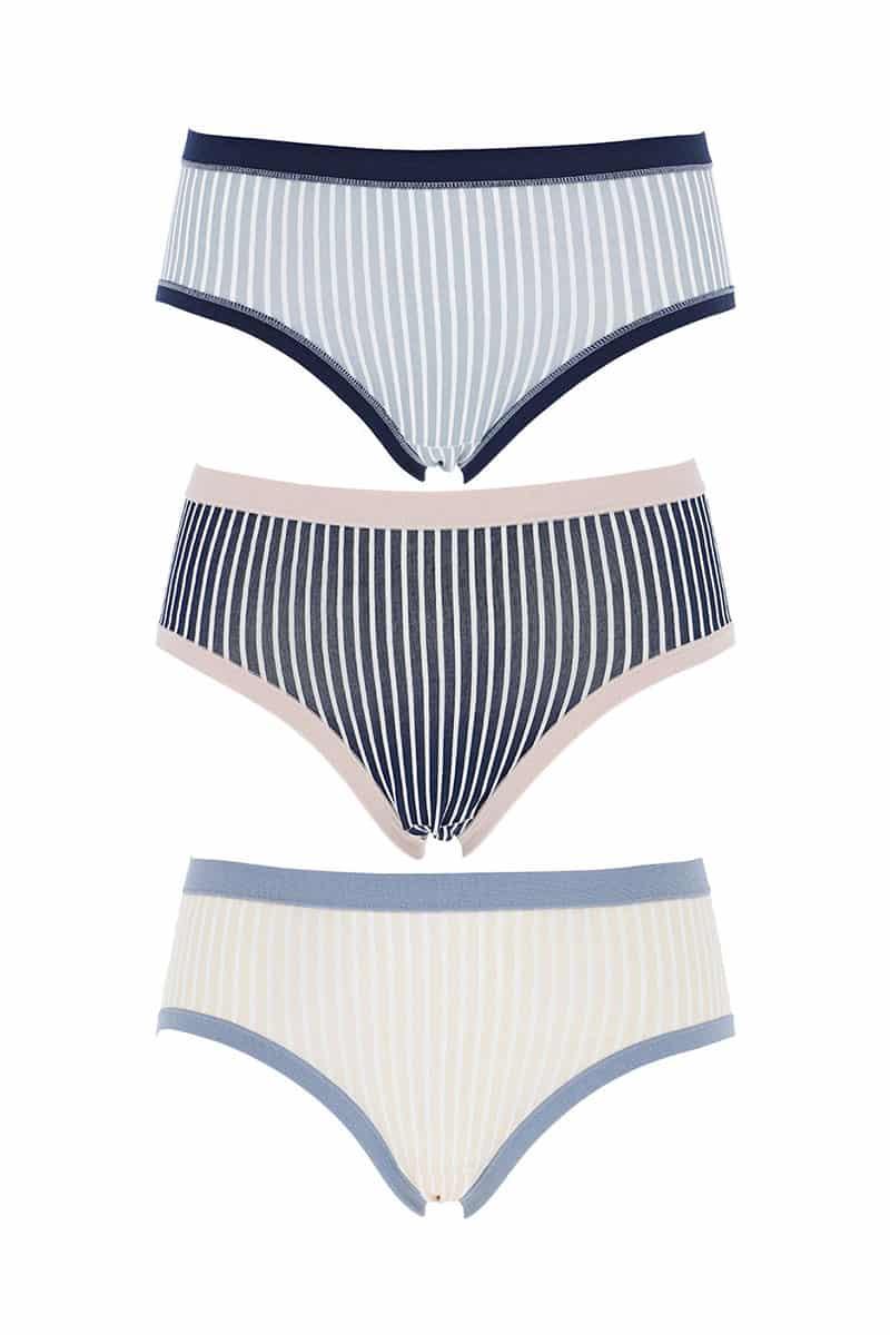 Slip Women Midi Cotonella 3363-E211-00100 (3 Pack) -