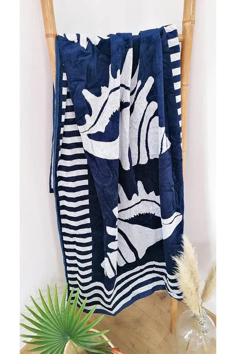 Beach Towel Escudo 100% Cotton 90x170cm -