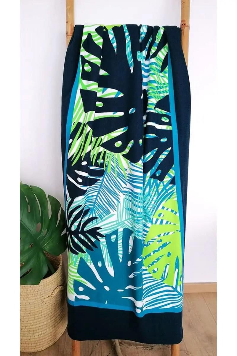 Beach Towel Tropical 90x170cm -