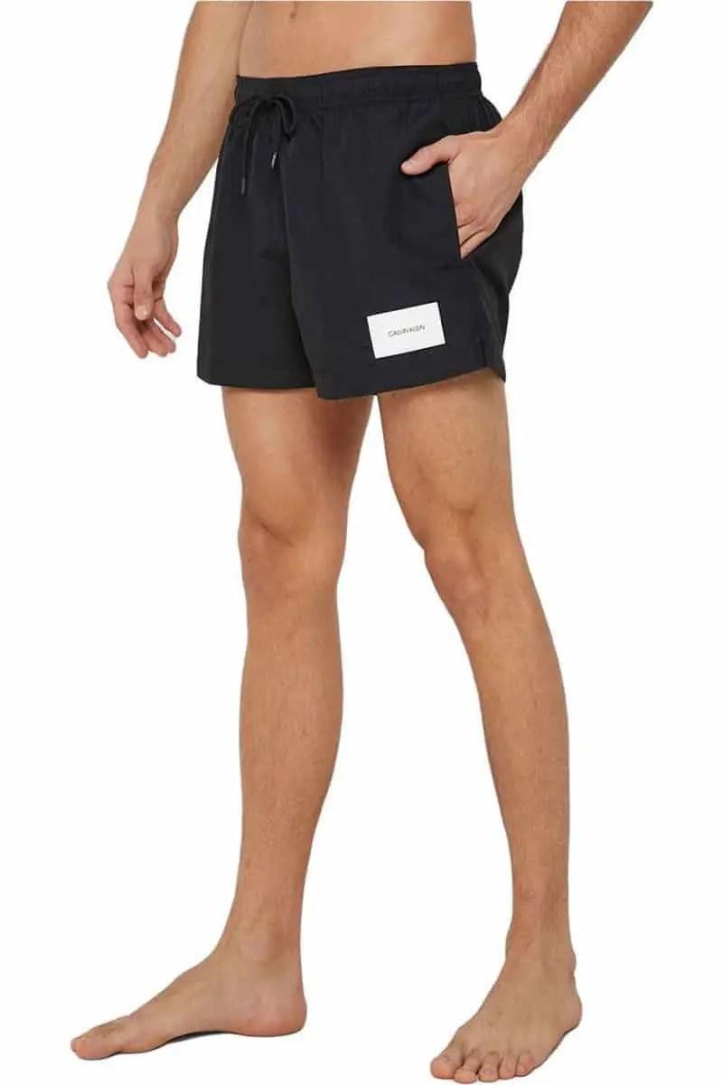 Ανδρικό Μαγιό Shorts Calvin Klein Km0Km00277-001 - Calvin Klein