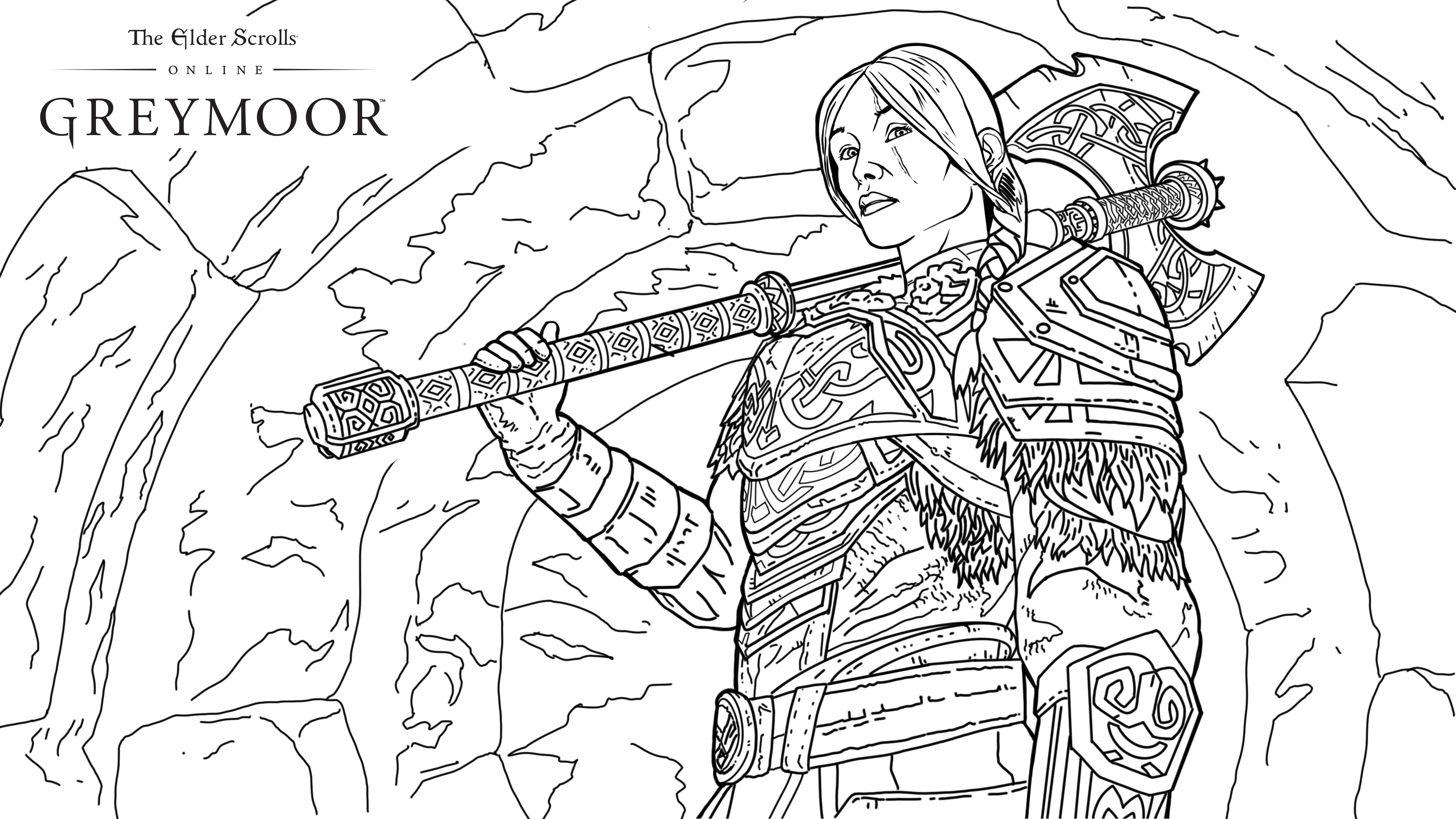 Get Creative at Home with these Greymoor Coloring Pages