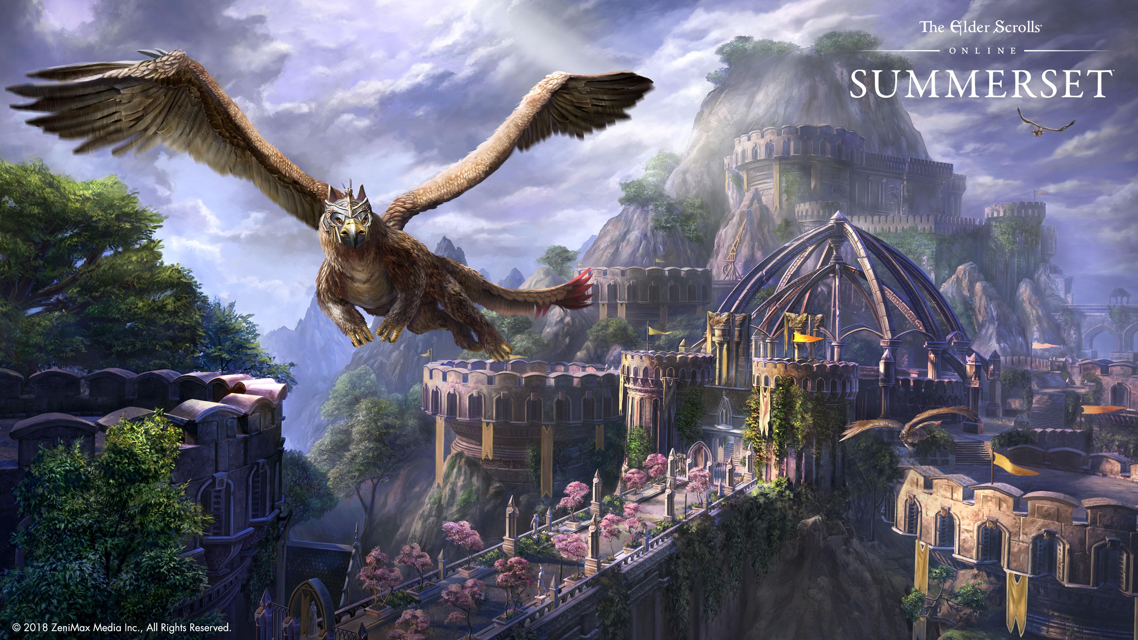 Elder Scrolls Online Wallpaper Wengerluggagesave