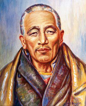 The Tibetan Master D.K.
