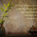 Feng Shui arte ou ciência mensagem