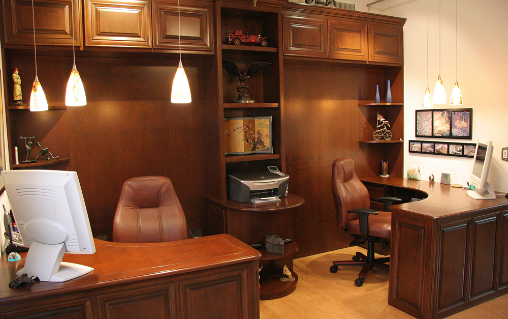 Custom Home Offices in Orange County