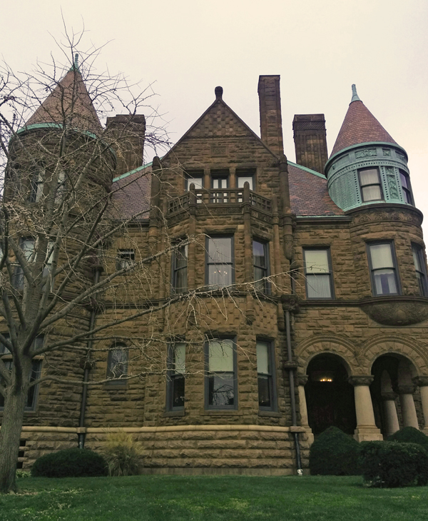 Cupples House facade