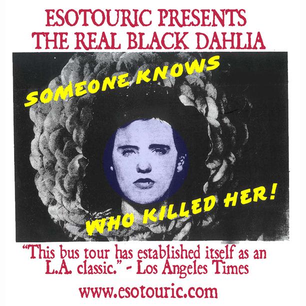 Raffle: Enter to win a seat on The Real Black Dahlia tour (4/16/16)