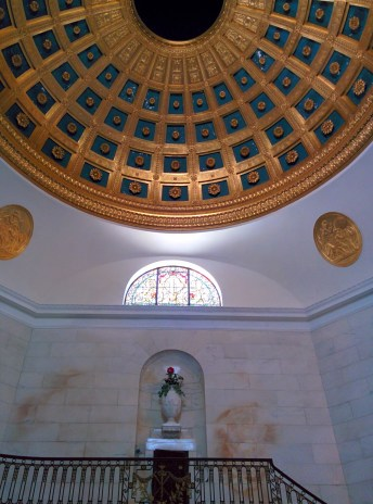 Oak Grove Cemetery mausoleum dome