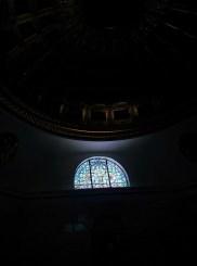 Oak Grove Cemetery mausoleum window